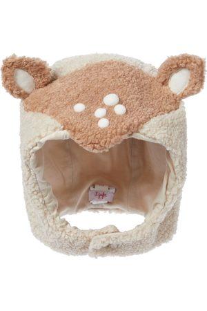 Il gufo Hatte - Baby faux-shearling hat