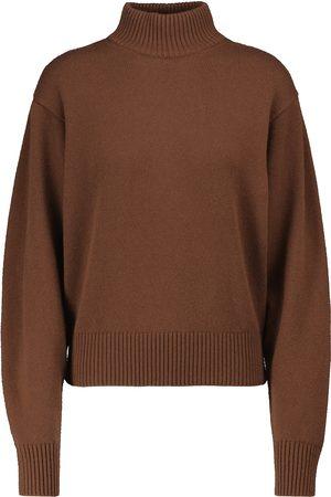 Loro Piana Kvinder Strik - Quadrilatero cashmere turtleneck sweater