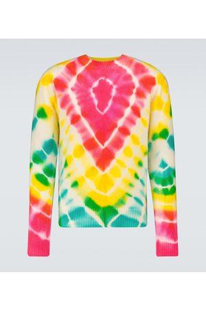 THE ELDER STATESMAN Burst Simple crewneck sweater