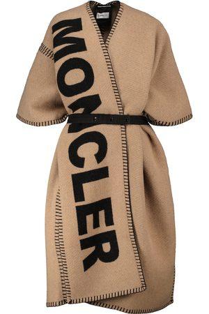 Moncler Kvinder Ponchos - Wool-blend poncho
