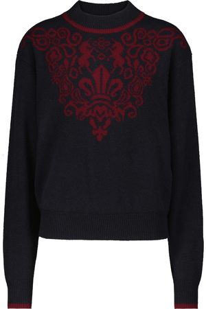 See By Chloé Intarsia merino-wool sweater