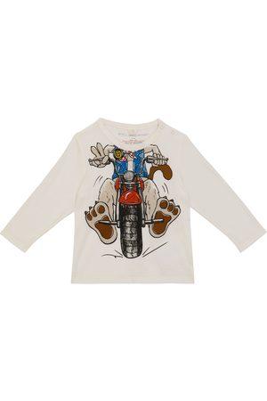 Stella McCartney Funny Motor Dog long-sleeved T-shirt
