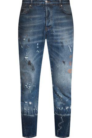 John Richmond Mænd Slim - Distressed jeans