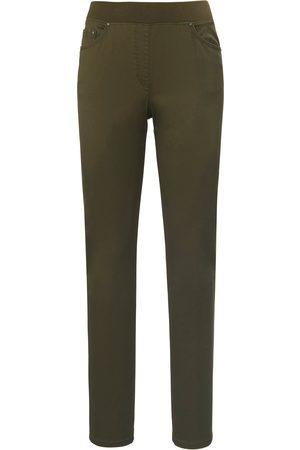 Brax ProForm Slim-bekvem buks model Pamina Fra Raphaela by grøn