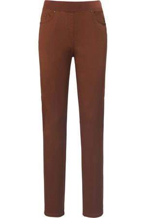 Brax Kvinder Slim bukser - ProForm Slim-bekvem buks model Pamina Fra Raphaela by brun