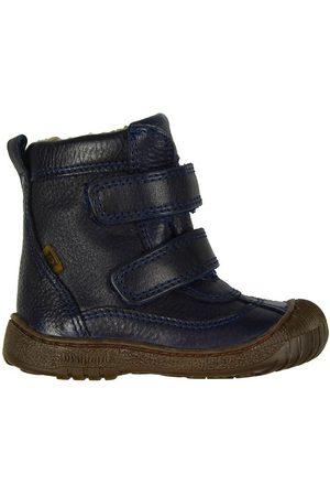 Bisgaard Vinterstøvler - Tex - Navy m. For/Velcro