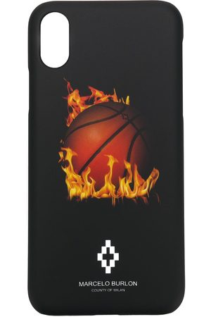 MARCELO BURLON Mænd Mobil Covers - Printed iPhone X case