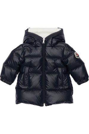 Moncler Cansu Hooded Nylon Down Coat