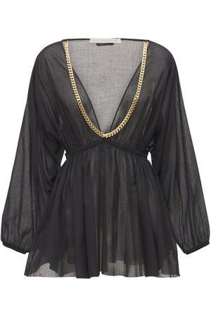 Stella McCartney Kvinder Festkjoler - Falabella Cotton Mini Dress