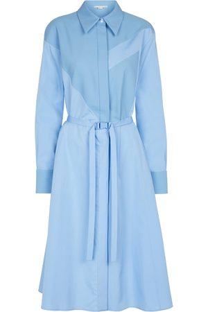 Stella McCartney Mia belted cotton shirt dress