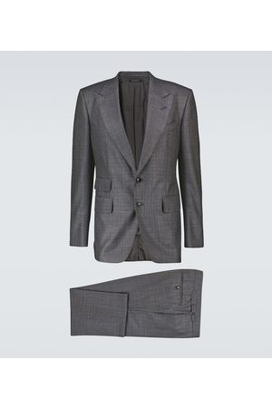Tom Ford Wool and silk checked suit