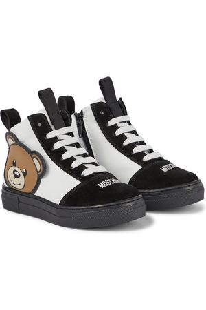 Moschino Piger Sneakers - Leather and suede sneakers