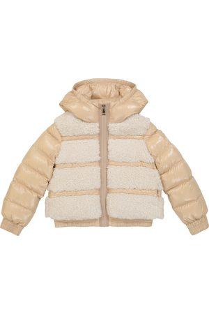 Moncler Enfant Gentiane faux fur-trimmed down jacket