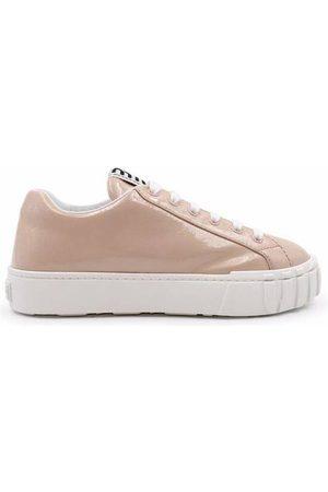 Miu Miu Kvinder Sneakers - Shiny sneakers