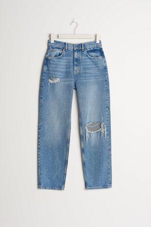 Gina Tricot Kvinder High waist - 90s PETITE high waist jeans
