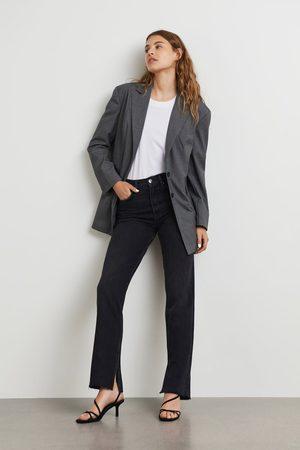 Gina Tricot Kvinder Straight - Original slit jeans
