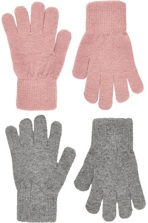 CeLaVi Handsker - Uld/Nylon - 2-pak - Mistey Rose/Gråmeleret
