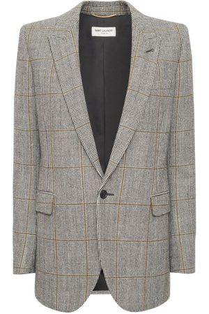 SAINT LAURENT Kvinder Blazere - Wool Gabardine Blazer