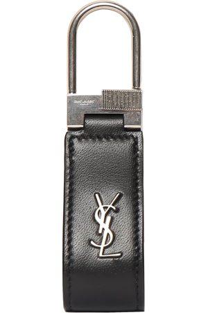 SAINT LAURENT Mænd Nøgleringe - Ysl Leather Key Ring