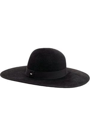 SAINT LAURENT Mænd Hatte - Asymmetric Felt Hat W/grosgrain Ribbon