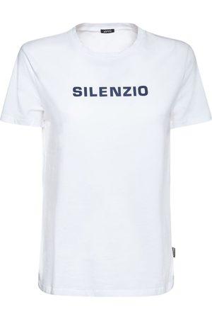Aspesi Printed Cotton Jersey T-shirt