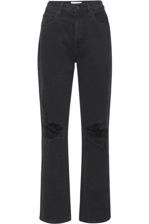SLVRLAKE Kvinder High waist - London High Rise Straight Cotton Jeans