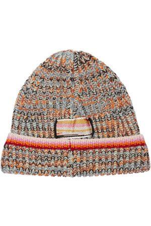 MISSONI Cost Inglese Wool Blend Knit Beanie