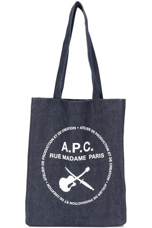 A.P.C. Tote med logotryk
