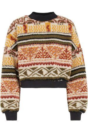 Etro Faux shearling sweatshirt