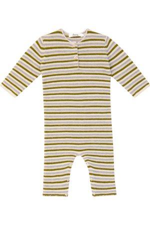 BONPOINT Baby Ticiano striped merino wool onesie