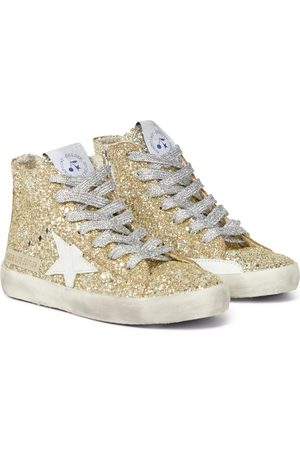 BONPOINT X Golden Goose high-top leather sneakers