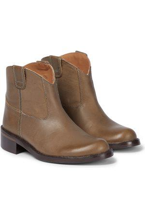 BONPOINT Santiag leather boots