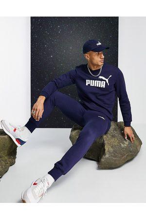 Puma Essential - Marineblå joggingbukser 85175306