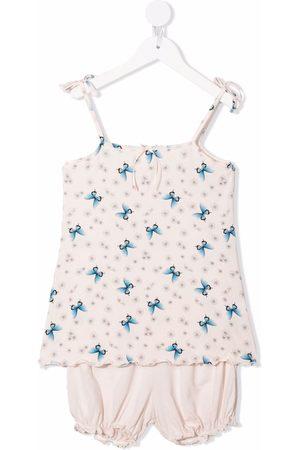 Story Loris Sæt med modal-pyjamas med sommerfulgetryk