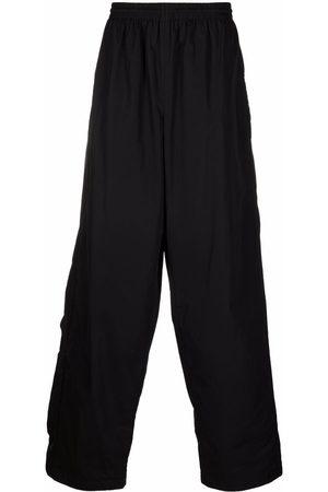 Balenciaga Elasticated-waistband wide-leg trousers
