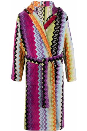 Missoni Giacamo badekåbe med zigzag-mønster