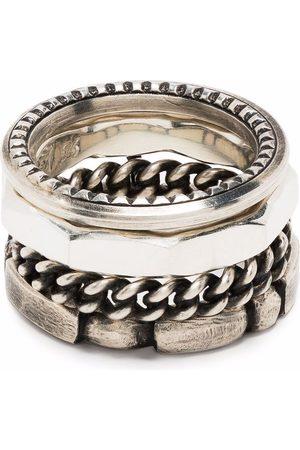 WERKSTATT:MÜNCHEN Multi stablet ring