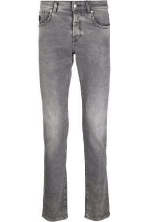 John Richmond Jeans med logotryk bagpå