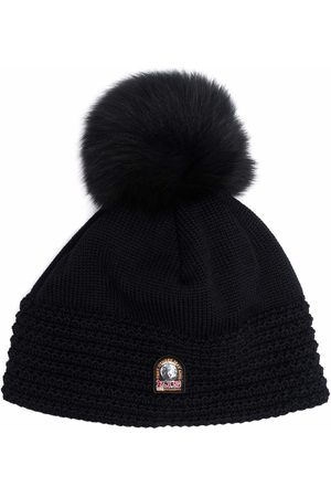 Parajumpers Ivy logo-patch wool beanie
