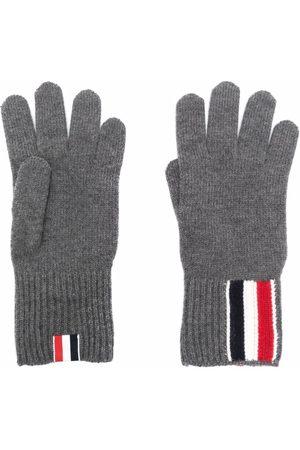 Thom Browne Mænd Handsker - RWB-stribede handsker i merinould