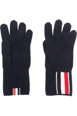 Thom Browne RWB-stribede handsker i merinould