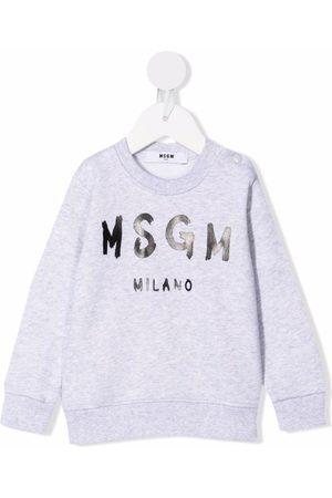 Msgm Trøje med logotryk
