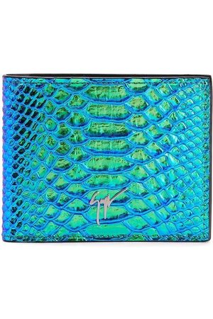 Giuseppe Zanotti Albert iridescent python-print wallet