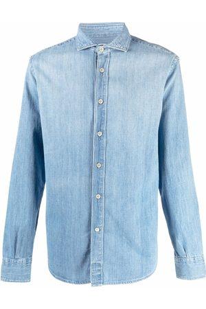 ELEVENTY Denimskjorte med knapper