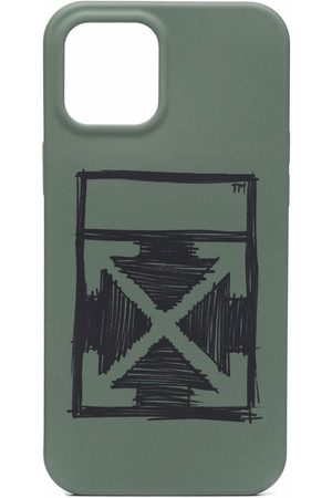 OFF-WHITE IPhone 12 Pro Max cover med pile