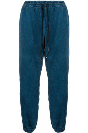 MAUNA KEA Drawstring cotton track trousers