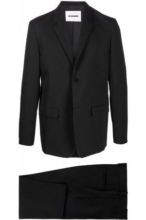 Jil Sander Enkeltradet jakkesæt med smal pasform