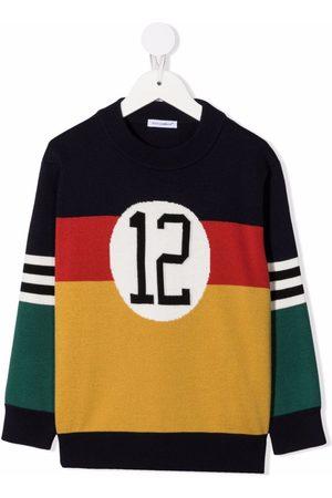 Dolce & Gabbana Striktrøje med colourblocking