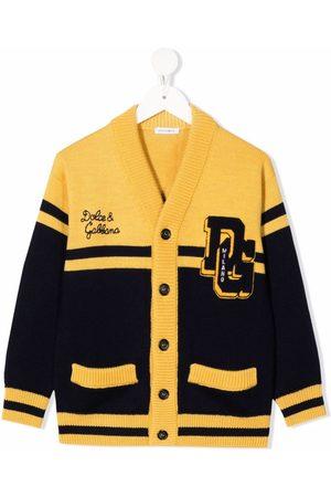 Dolce & Gabbana Cardigan med logomærke og knapper