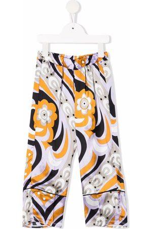 Emilio Pucci All-over graphic print trousers